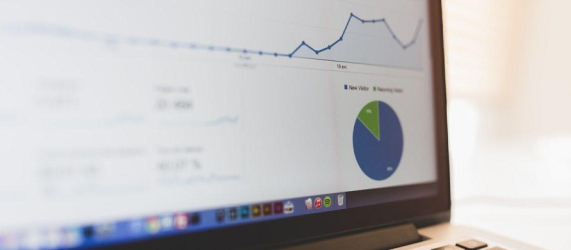 Google Analytics com relatórios que dão suporte para trabalho de SEO.